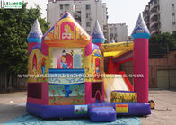 China Das Dia Prinzessin-Inflatable Bounce House With gemacht von bleifreier PVC-Plane Firma